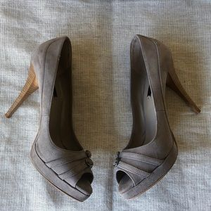 Zara Double Buckle Heels sexy Size 7 1/2